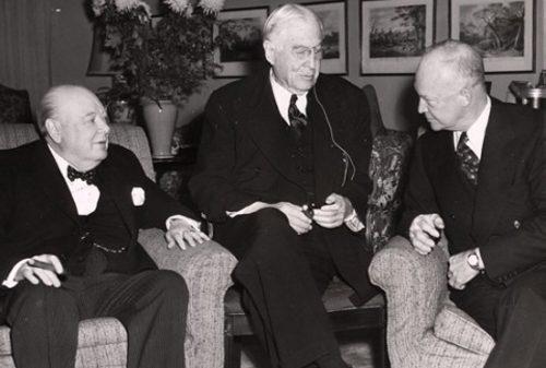 Барух, Черчиль, Эйзенхауэр