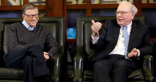 Уоррен Баффет и Билл Гейтс