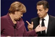 Меркель и Саркози спорят о роли ЕЦБ в кризисе